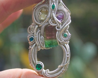 The Blarney Stone // Nick Cooney // Tendai Designs // wearable art // statement jewelry // gift for her // gift for him // Grateful Dead