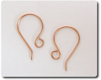 Copper Handmade Ear Wires