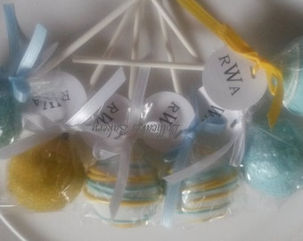 Baby Shower Cake Pops: Cake Pops Made to Order with High Quality Ingredients, 1 Dozen Cake Pops
