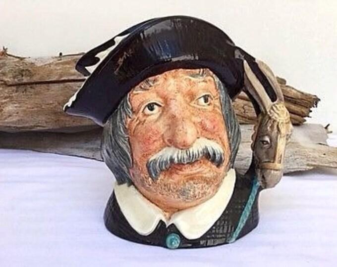 Large Toby Mug Royal Doulton Stein Sancho Panca 1950s mug.Don Quixote.Panza.Donkey