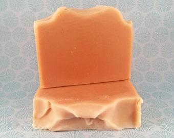 Lemon & Green Tea Soap - Handmade - Cold Process - Vegan - Natural