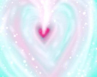 The High Heart, Original Art by Leanne Carpenter Canvas Print
