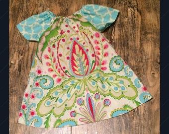 Sale!! Ready To Ship, Garden Baby Dress, Toddler Dress, Sundress, little Girl Dress