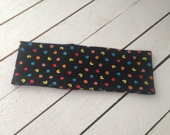 PacMan, Pac-Man, Pac Man, Gamer, Headband, Yoga Headband, Workout Headband