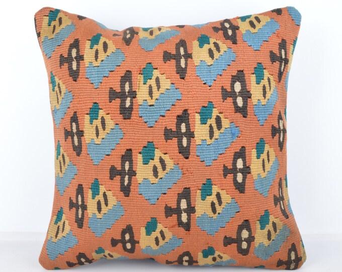 Wool Pillow, Kilim Pillow, KP1073,  Decorative Pillows, Designer Pillows,  Bohemian Decor, Bohemian Pillow, Accent Pillows, Throw Pillows