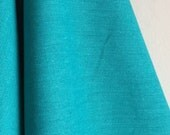 Organic Solid Fabric in Turquoise from the Cirrus Solids Collection from Cloud9 Fabrics. - ONE FAT QUARTER Cut