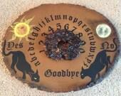 Ouija Board / Handmade Ouija Board