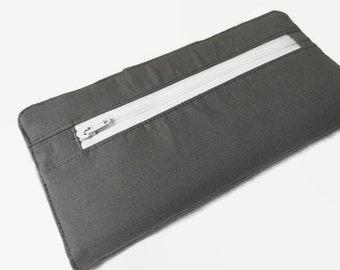 Add On Feature- Add a zippered coin pocket to your credit card holder