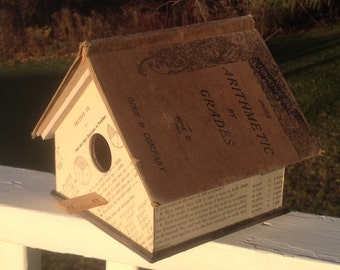 """The """"Arithmetic by Grades"""" Birdhouse"""