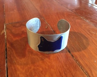 Minnesota License plate Cuff Bracelet
