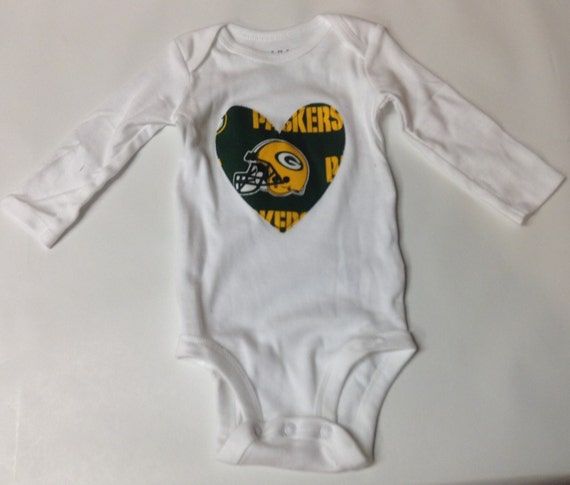 Green Bay Packers bodysuit baby shower t baby by