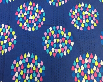 WestminsterFabric designed by Erin McMorris Summersault Raindrops 1/2 Yard Of Fabric READY TO SHIP!!!