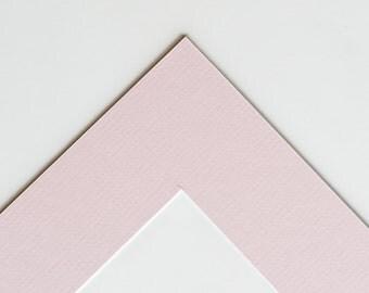 5x7 Mat for 8x10 Frame Pink