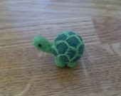Reserved listing for Lora - Needle felted miniature turtle