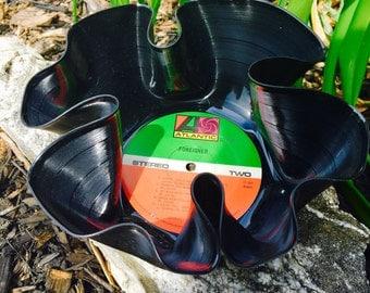 Foreigner record bowl, decorative bowl, vinyl bowl, home decor