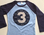 Third Birthday Shirt arrows tribal modern  3 Three Number Personalized Shirt or Onesie gift photo prop