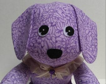 PURPLE DOG PUPPY Stuffed Animal