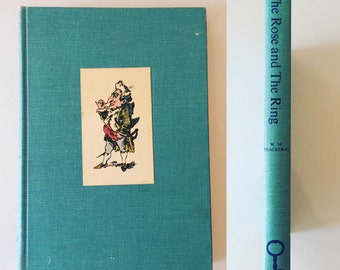 The Rose and The Ring By William Makepeace Thackeray  (1967, hardcover)