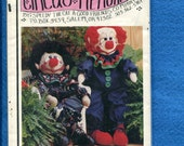 Circus Memories Hermie Eugene Clown Rag Doll UNCUT