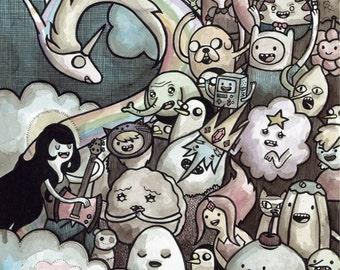 Adventure Time 11x14 print