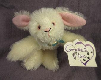 Annette's Pets Mohair Bunny Annette Funicello LE Plush Rabbit Knickerbocker Retired