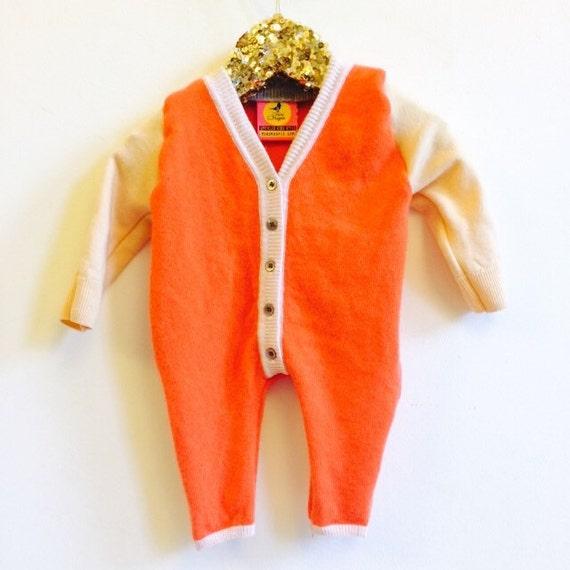 SLEEP 0-3m Baby Onesie Jumpsuit One Piece Jumper Romper Playsuit in Upcycled Unisex