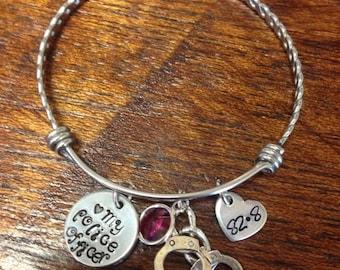 Police charm bracelet