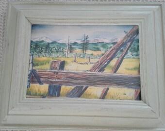 Hope Valley Watercolor Print