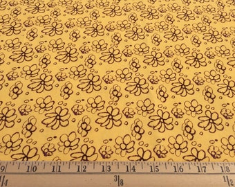 """Tina Givens Fairy Tip Toes Daisy Lace  TG63 100% cotton quilting fabric 44"""" wide sold by the yard"""