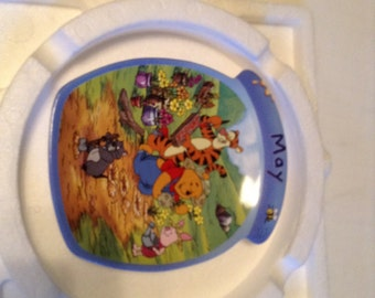 winnie the pooh may collector plate