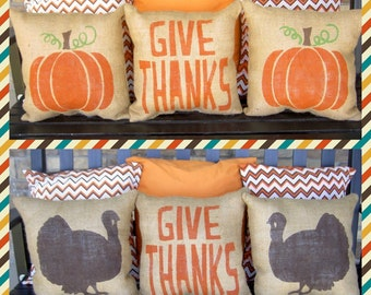 Thankgiving Pillow Set