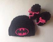 Girls batman hat girls batman cap with socks baby batman