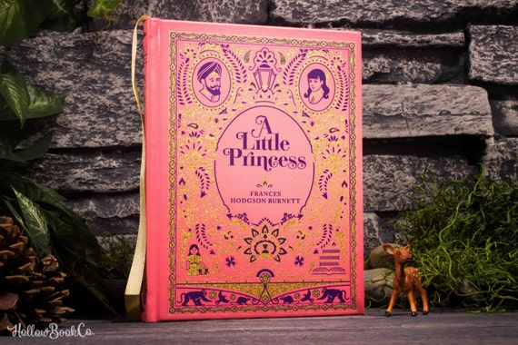 Hollow Book Safe - A Little Princess - (LEATHERBOUND)