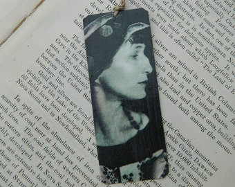 Bookmark Anna Akhmatova Poetry bookmark metal bookmark