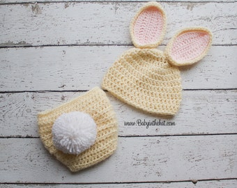 how to crochet bunny ears that stand up