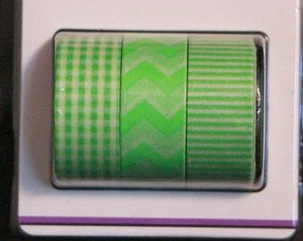 Green Galore Washi Tape Set