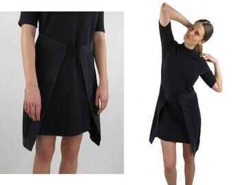 DAMIR DOMA Silent Cotton + Silk Dress