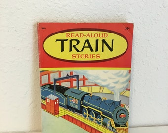 read aloud train stories, vintage childrens book, wonder book, read aloud book
