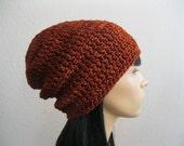 Crochet Beanie - Slouchy Beanie - Beanie Hat - Crochet Slouchy Beanie - Crocheted Beanie - Beanies - Crochet Beanie Hat - Slouchy Beanie Hat