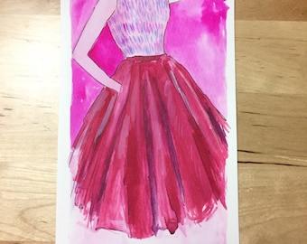 Pink Dior Dress Original