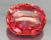 10.44 Ct Lab Created Simulated Red Pink Orange Padparadscha Sapphire