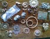 Destash of Vintage Jewelry to Upcycle