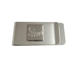 Engraved Scorpion Money Clip