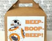 Star Wars BB-8 Inspired Favor Boxes