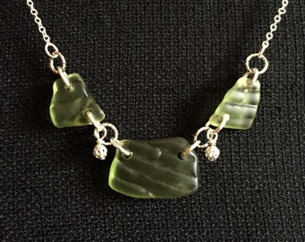 Lake Superior Glass Necklace