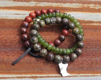 MN Charm Bracelet - Color: Tamarac