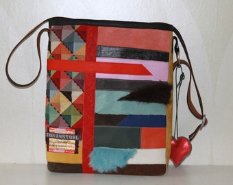 Colourfull striking bag