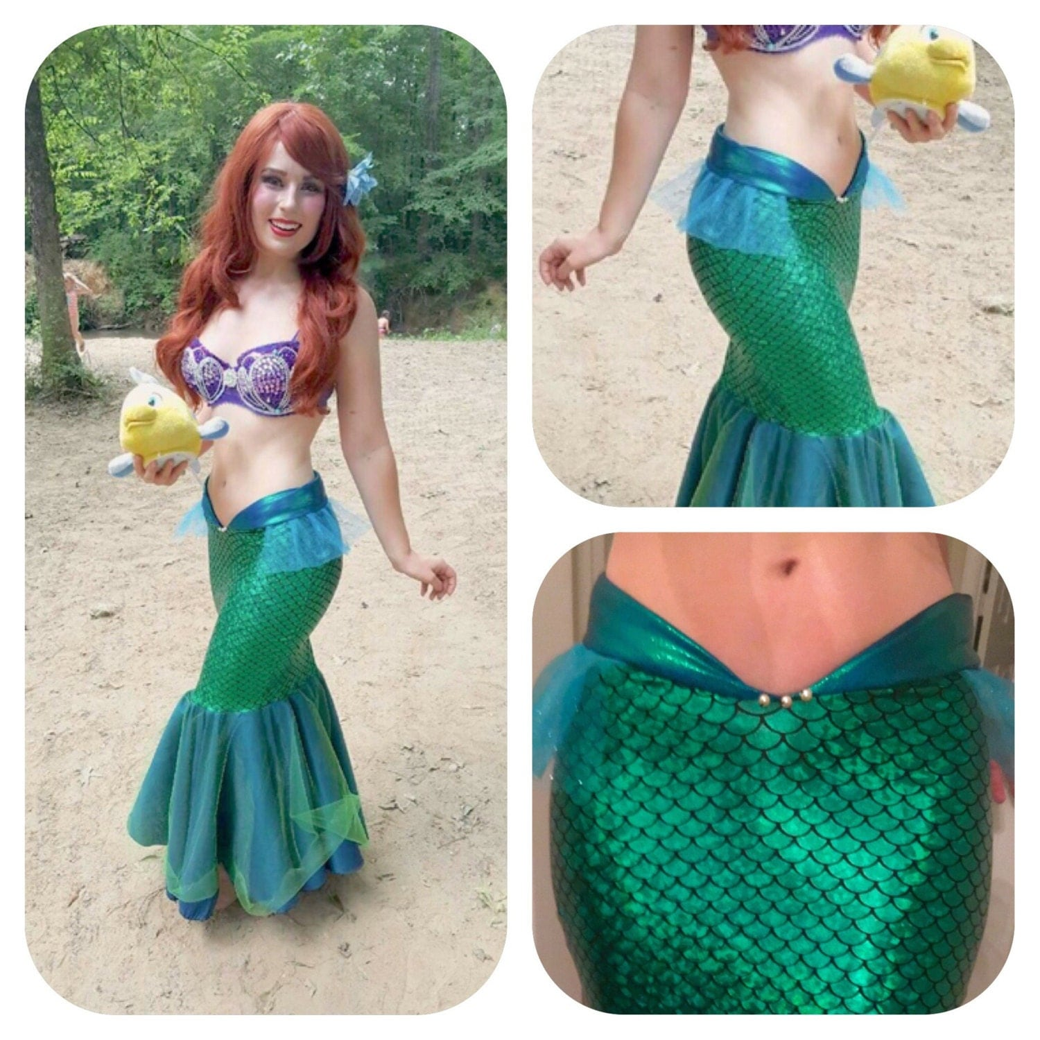 Sea Melody Mermaid Tail Little Mermaid Tail Costume