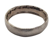 Ancient Viking Ring Wedding Band  C.900A.D. Size 10 1/2  (19.7mm)[PWR1052]
