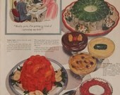 JELLO PUDDING And Pie Filling  Original Vintage Food Retro Kitchen Print Kitchen Decor Ready To Frame Additional Ads Ship FREE